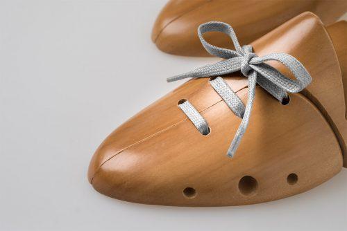 lacci piatti cerati grigio argento scarpe eleganti classiche di lusso