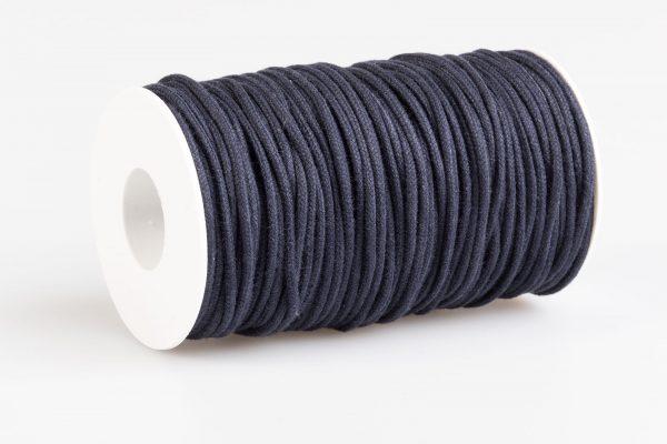 Acquista Cordino tondo cotone Blu