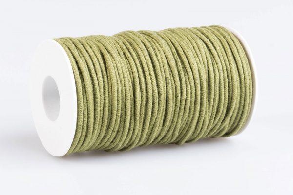 Acquista Cordino tondo cotone Verde oliva