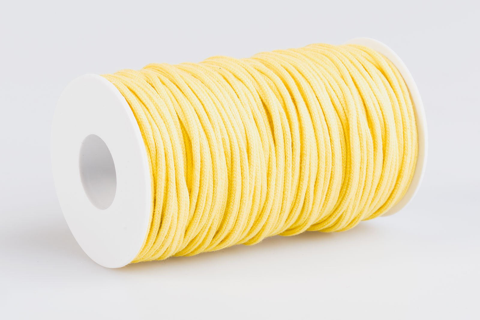 Acquista Cordino tondo cotone Giallo Intenso - Laccioteca 1733474394f