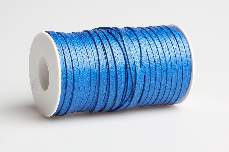 Acquista Cordino piatto cerato Azzurro - Laccioteca c9c502cd590
