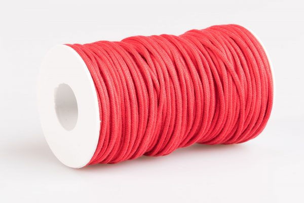 Acquista Cordino tondo cotone Rosso