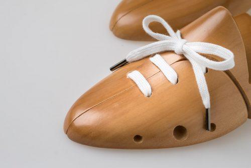 laccio piatto puro cotone bianco candido scarpa sportiva