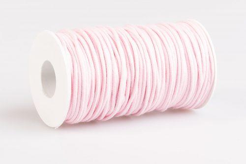 Compra cordino tondo in cotone rosa chiaro