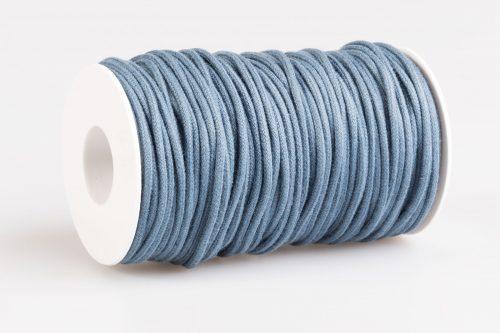acquista cordoncino cotone filo bigiotteria blu avio