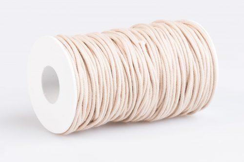 Acquista cordino tondo avana chiaro / beige Made in Italy