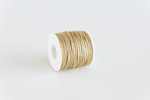 Cordoncino lurex oro brillante filo oro
