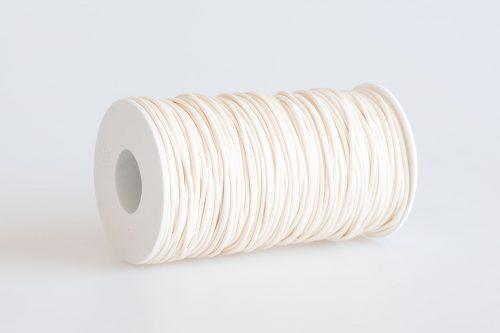Acquista cordino filo cerato color bianco latte
